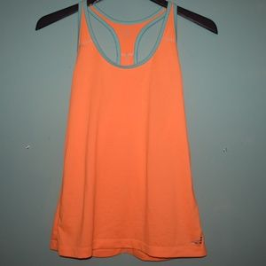 BCG Orange and Blue Tank Top Size Small